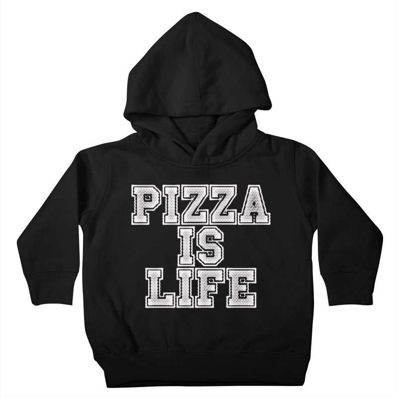 PIZZA Kids Toddler Pullover Hoody by Brimstone Designs