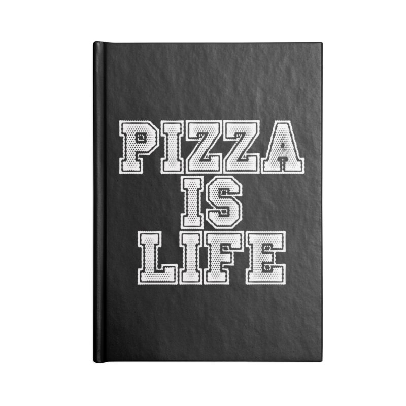PIZZA Accessories Notebook by Brimstone Designs