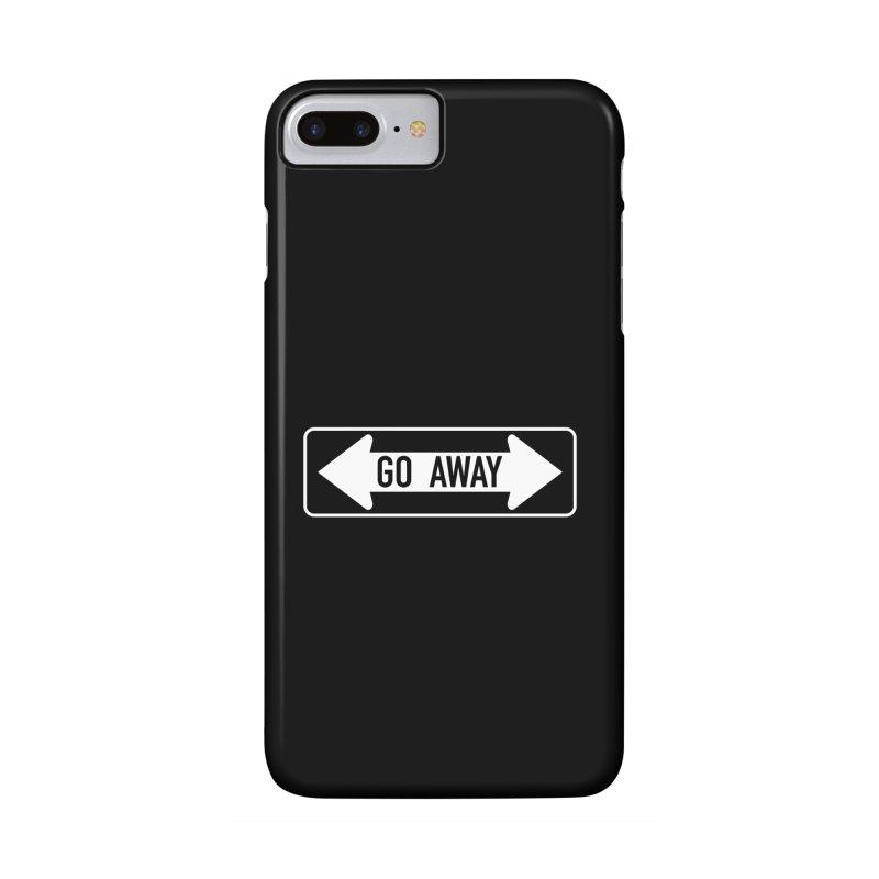 GO AWAY Accessories Phone Case by Brimstone Designs