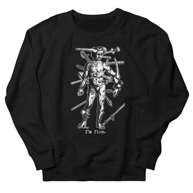 I'm fine Men's Sweatshirt by Brimstone Designs