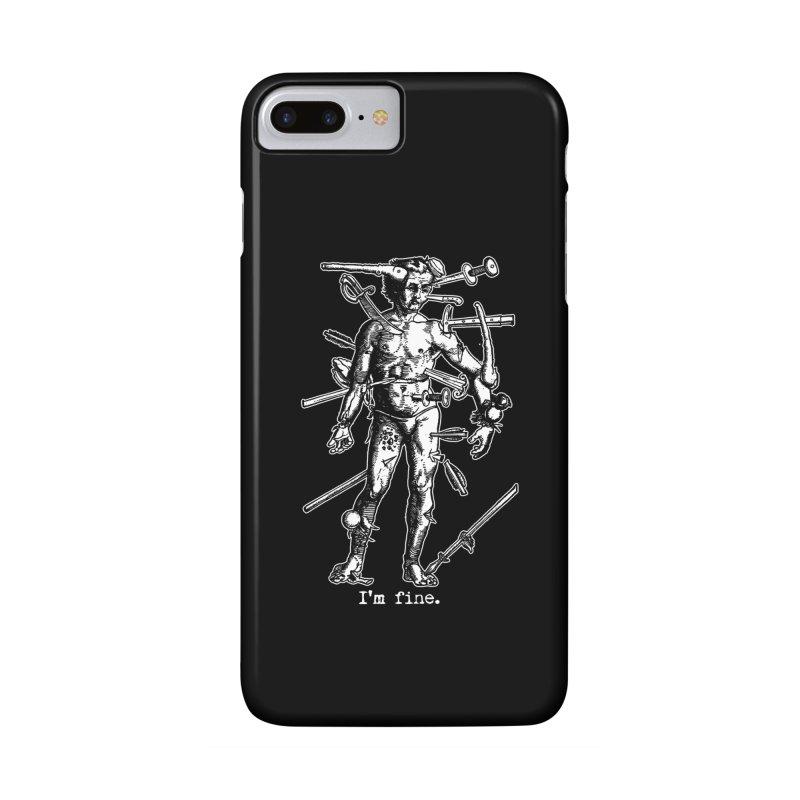I'm fine Accessories Phone Case by Brimstone Designs