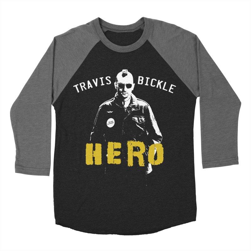 HERO Women's Baseball Triblend T-Shirt by Brimstone Designs