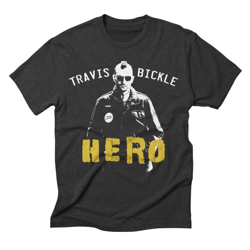 HERO Men's Triblend T-shirt by Brimstone Designs