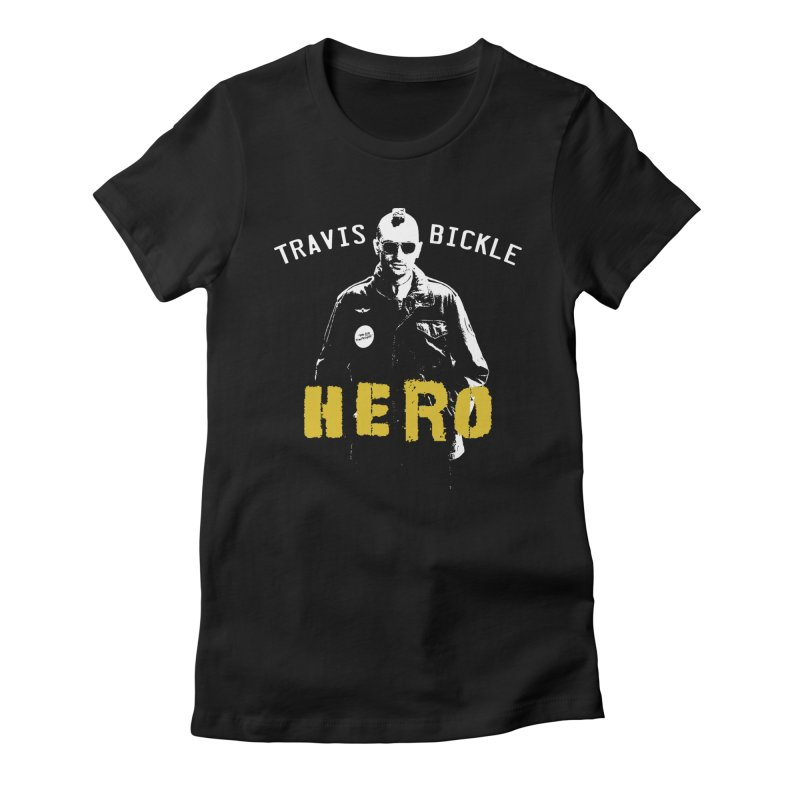 HERO Women's Fitted T-Shirt by Brimstone Designs