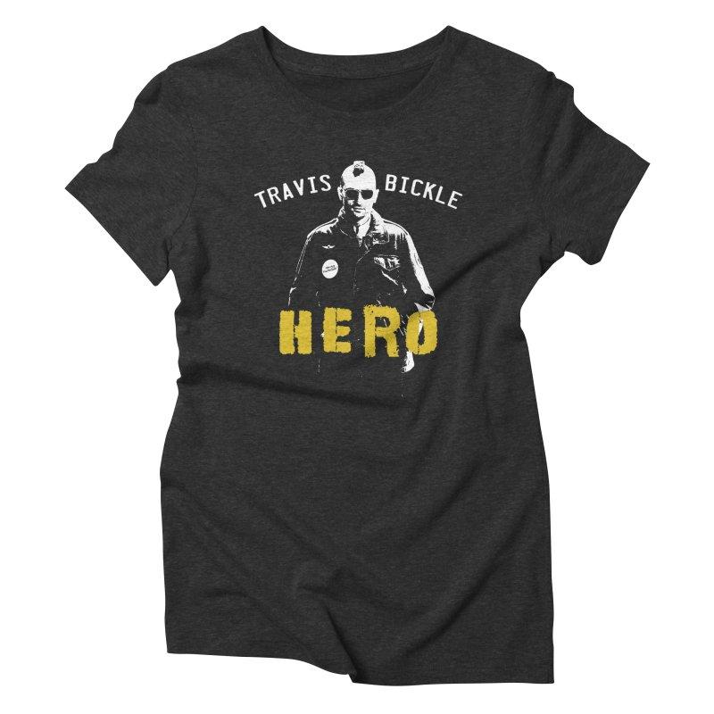 HERO Women's Triblend T-shirt by Brimstone Designs