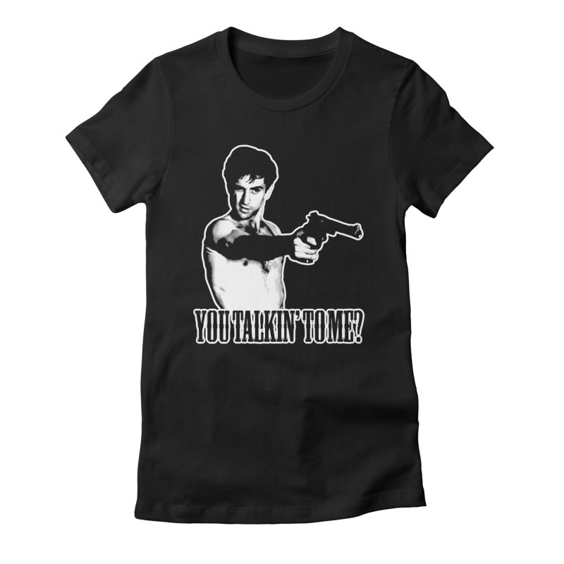 BICKLE Women's Fitted T-Shirt by Brimstone Designs