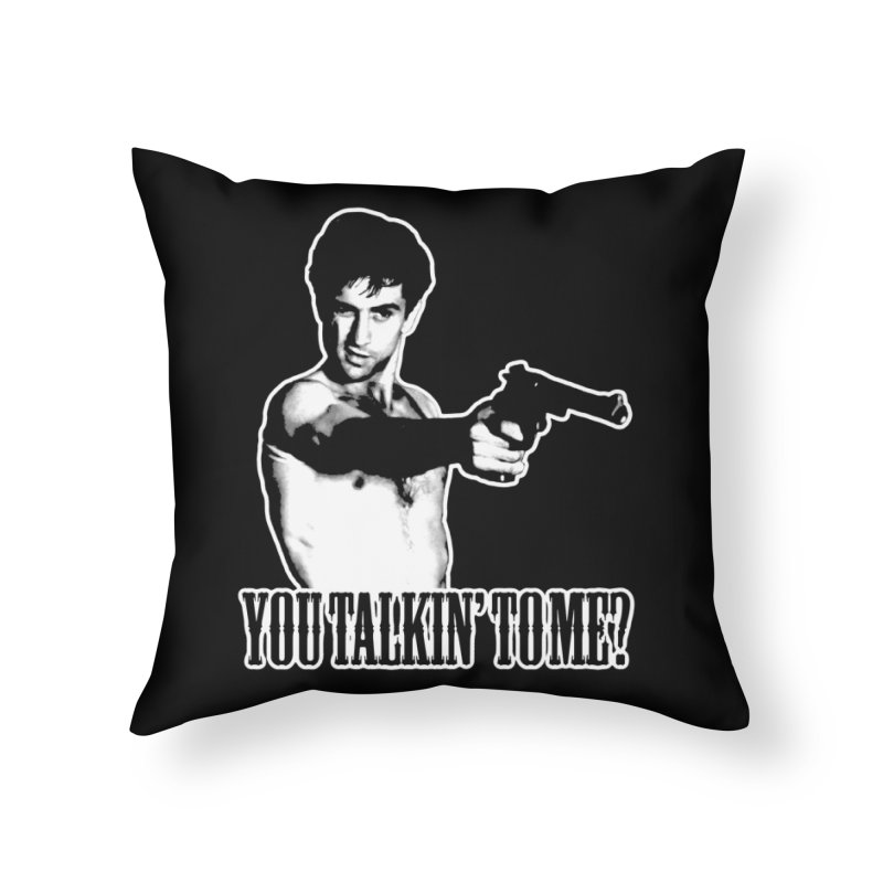 BICKLE Home Throw Pillow by Brimstone Designs