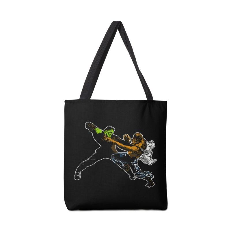 FRANKENSTEIN vs WOLFMAN Accessories Bag by Brimstone Designs