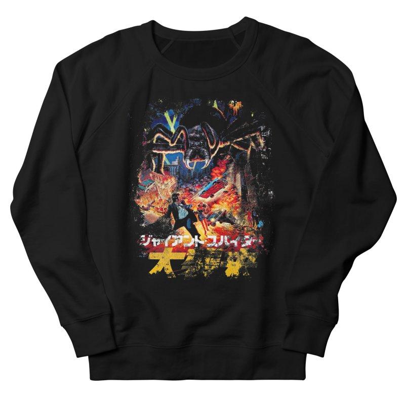 SPIDERZILLA Men's Sweatshirt by Brimstone Designs