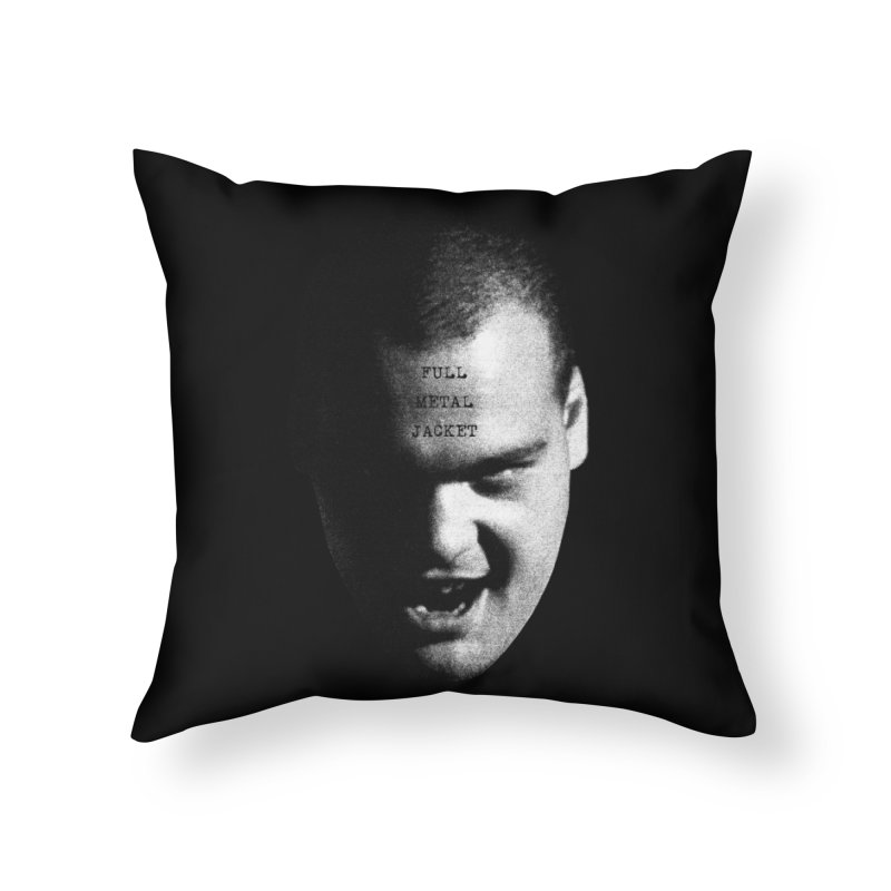 Leonard Home Throw Pillow by Brimstone Designs