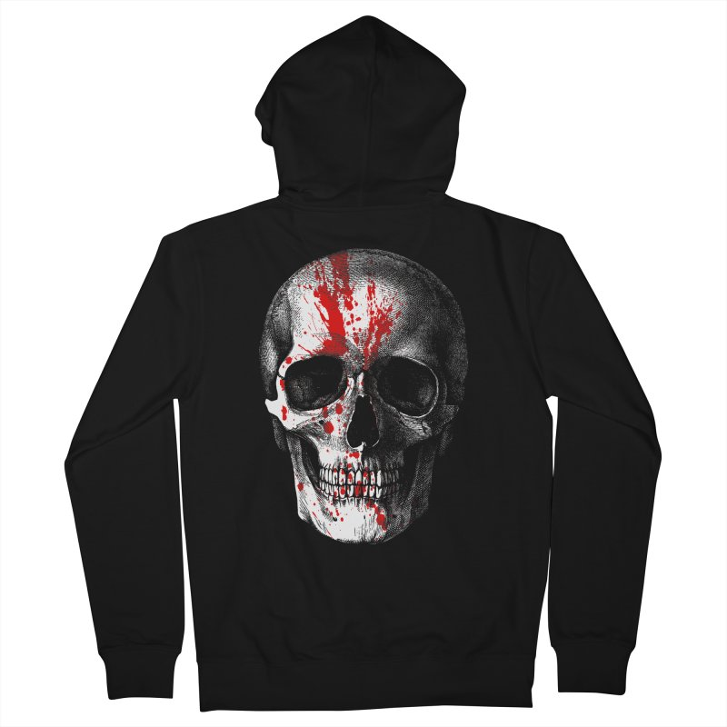 blood 'n' bone Men's Zip-Up Hoody by Brimstone Designs