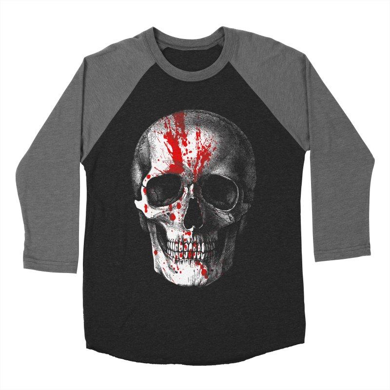 blood 'n' bone Women's Baseball Triblend T-Shirt by Brimstone Designs