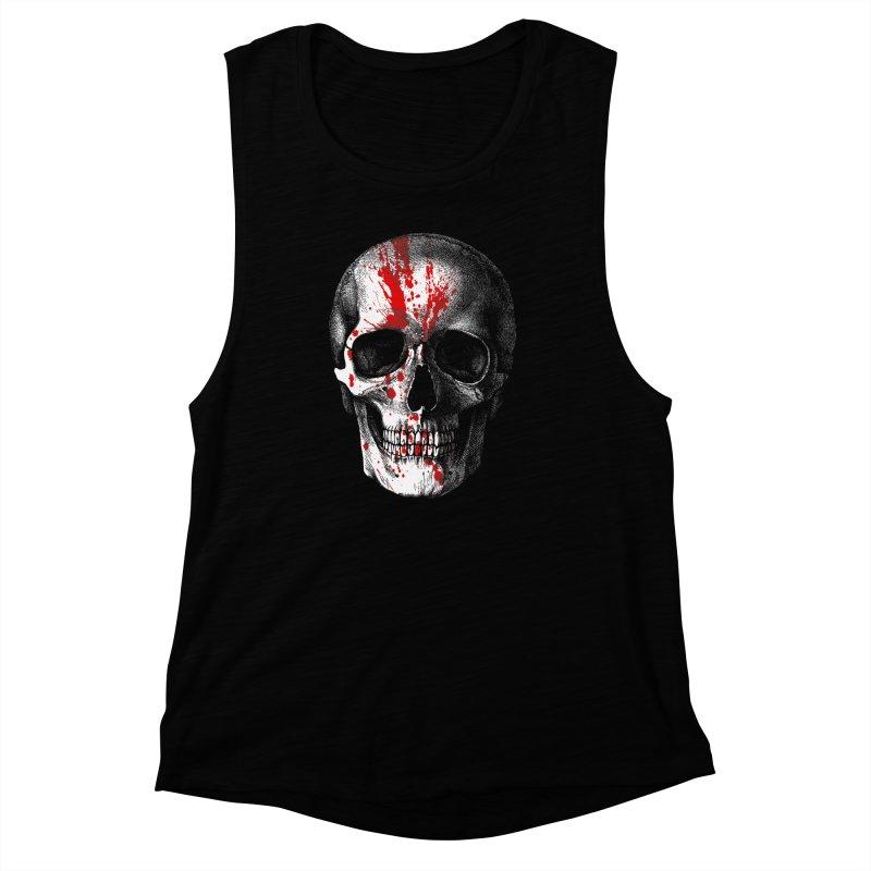 blood 'n' bone Women's Muscle Tank by Brimstone Designs