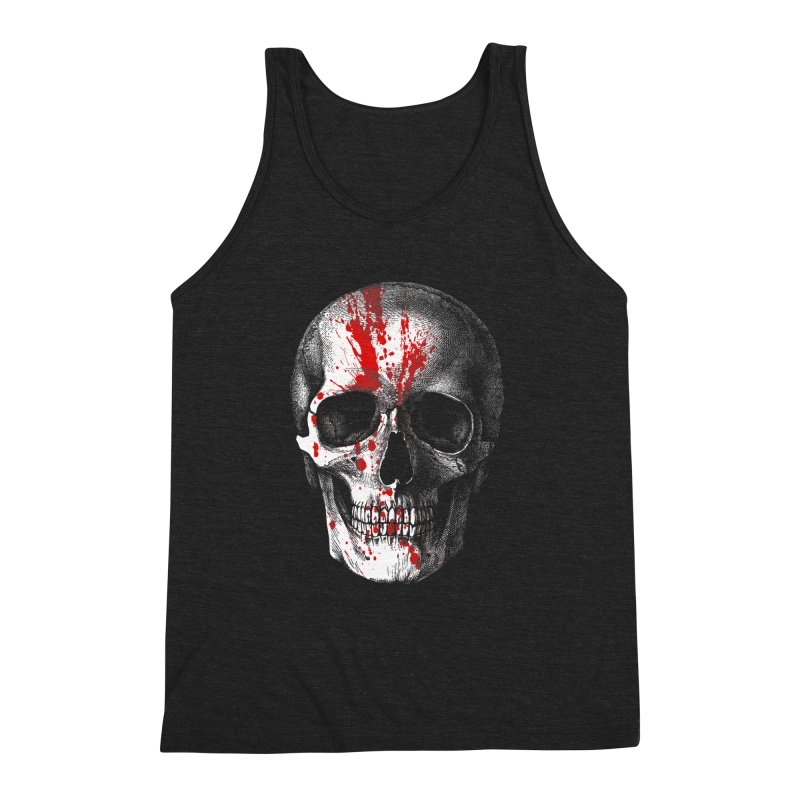 blood 'n' bone Men's Triblend Tank by Brimstone Designs
