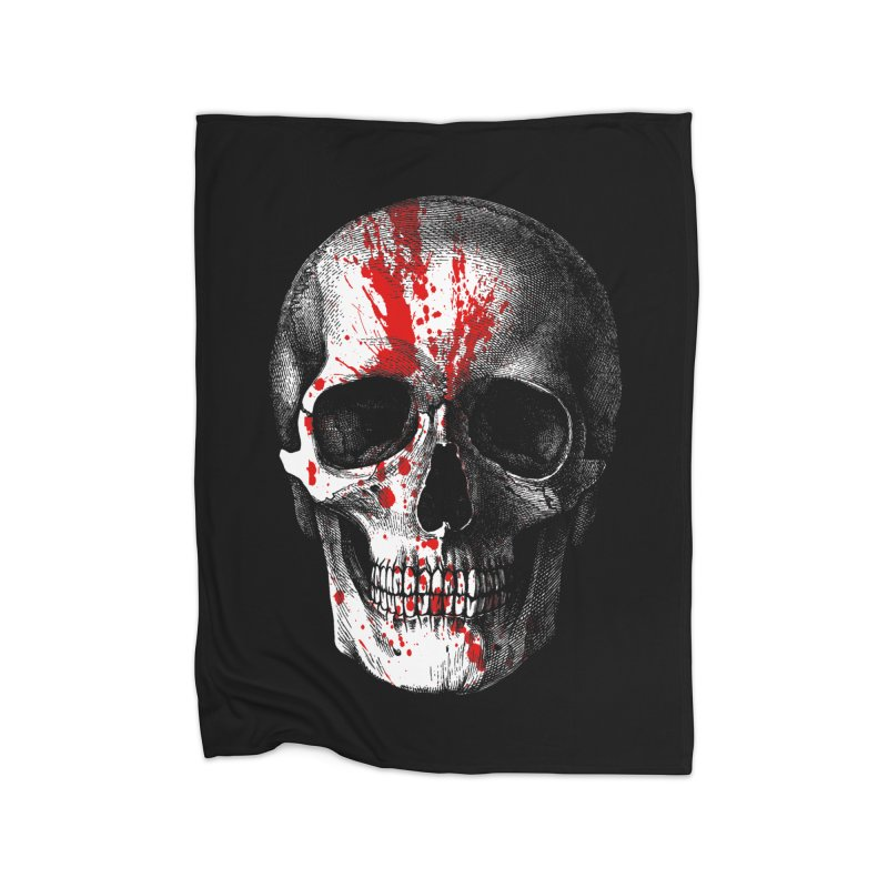 blood 'n' bone Home Blanket by Brimstone Designs