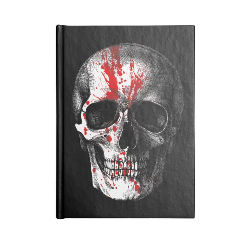 blood 'n' bone Accessories Notebook by Brimstone Designs