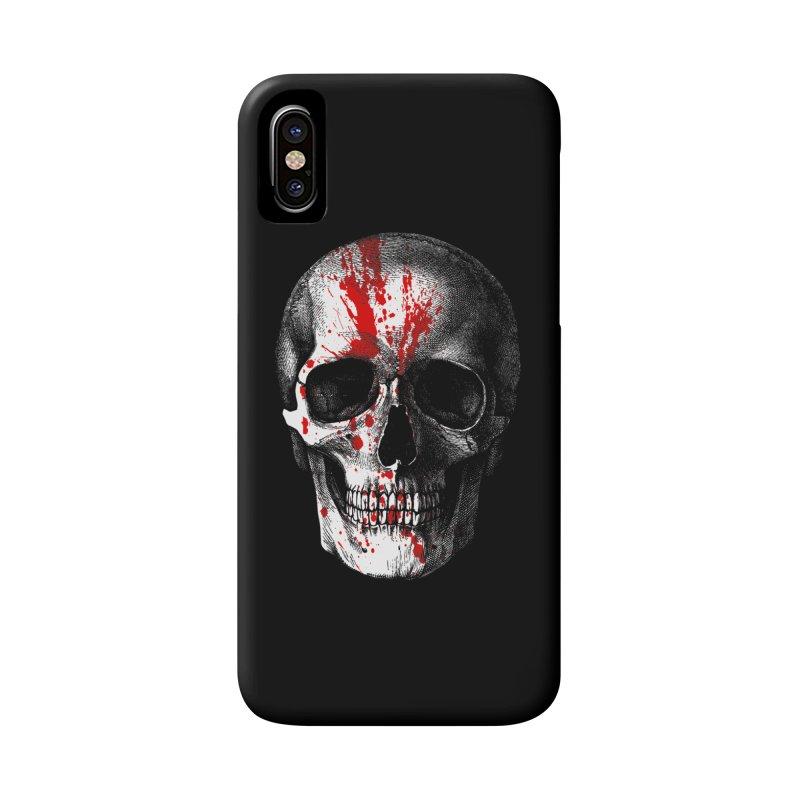 blood 'n' bone Accessories Phone Case by Brimstone Designs