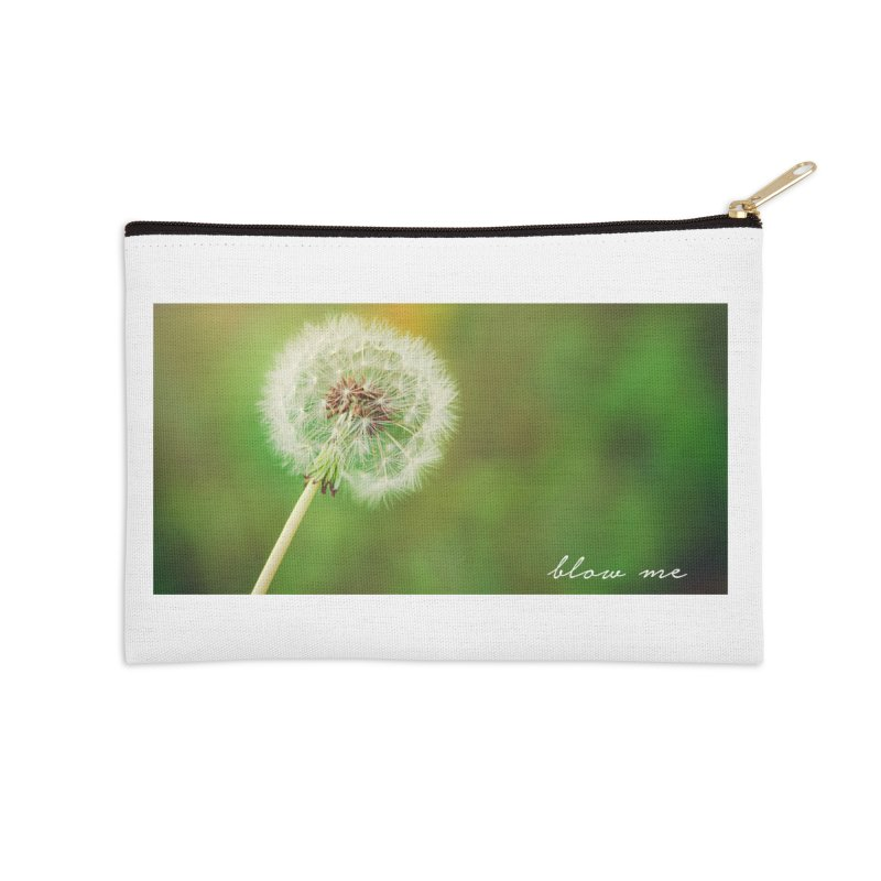 blow me Accessories Zip Pouch by Brimstone Designs