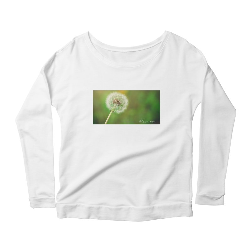 blow me Women's Longsleeve Scoopneck  by Brimstone Designs
