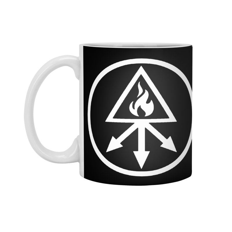 RED KING SULFER Accessories Mug by Brimstone Designs