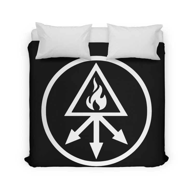 RED KING SULFER Home Duvet by Brimstone Designs