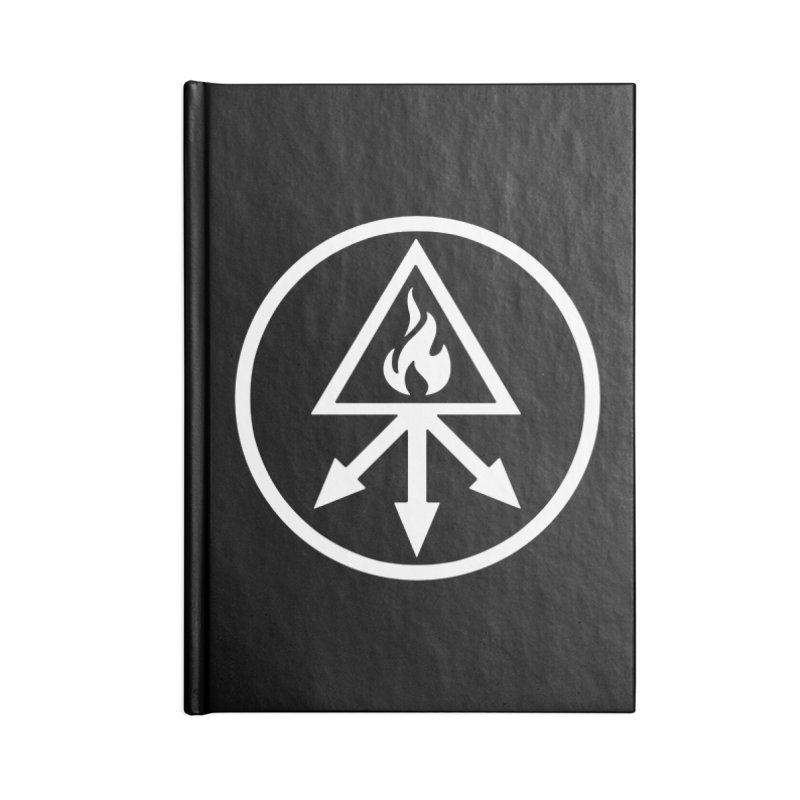 RED KING SULFER Accessories Notebook by Brimstone Designs
