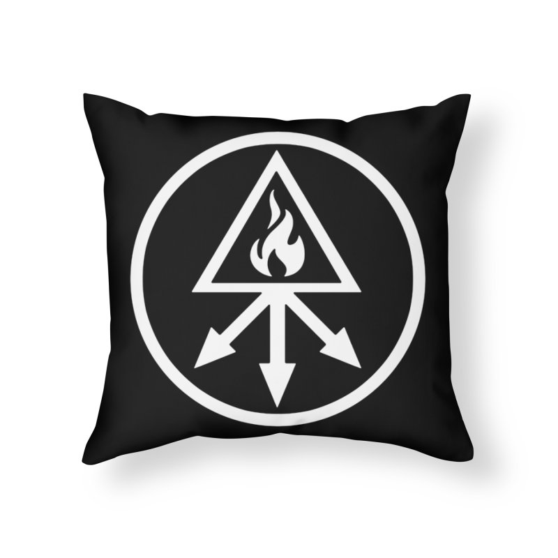 RED KING SULFER Home Throw Pillow by Brimstone Designs