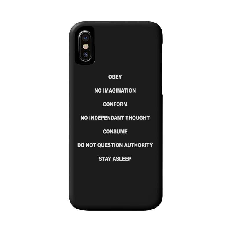 SUBLIMINAL Accessories Phone Case by Brimstone Designs