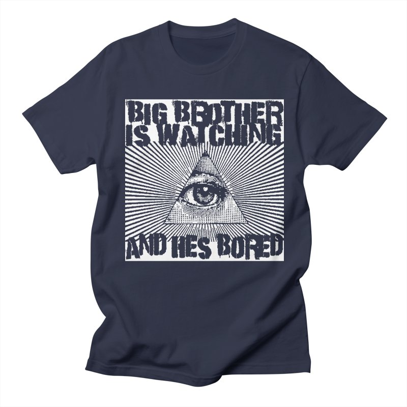 BIG BROTHER'S BORED Women's Regular Unisex T-Shirt by Brimstone Designs