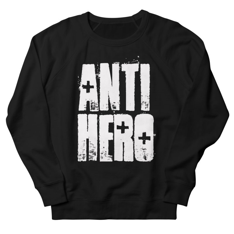 anti hero Men's Sweatshirt by Brimstone Designs