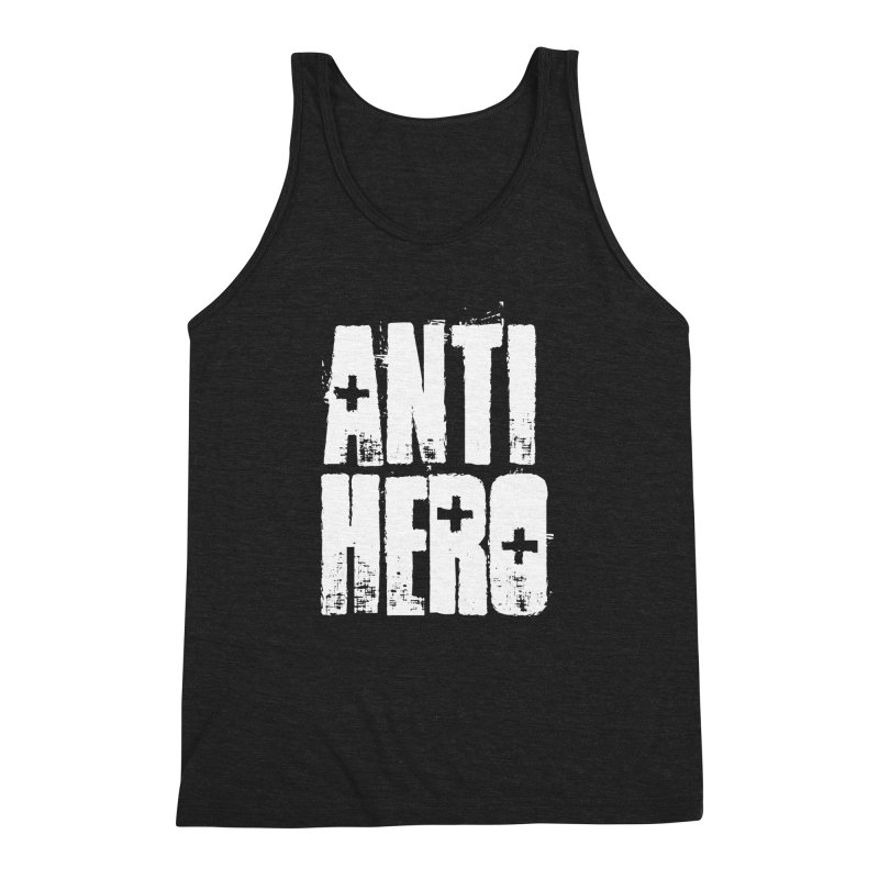 anti hero Men's Triblend Tank by Brimstone Designs