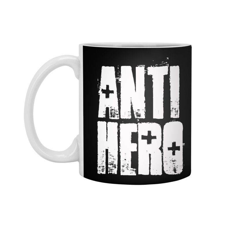 anti hero Accessories Mug by Brimstone Designs