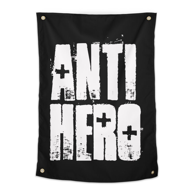 anti hero Home Tapestry by Brimstone Designs