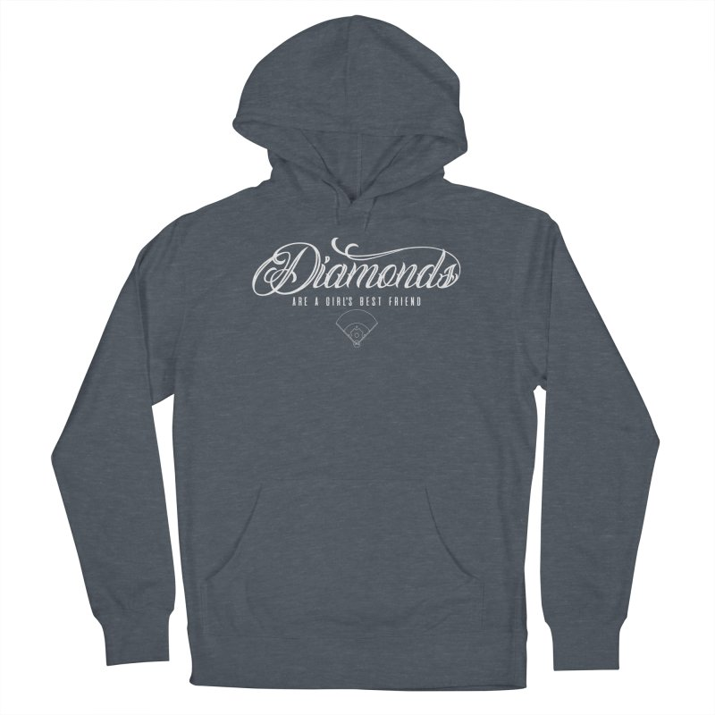 Diamonds Women's Pullover Hoody by Brimstone Designs