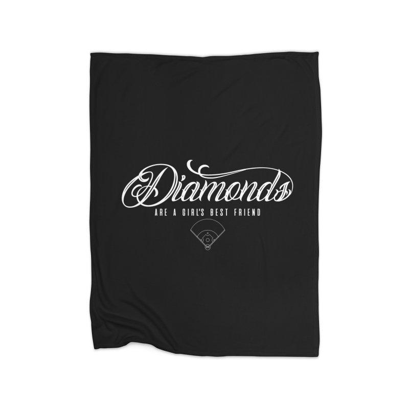 Diamonds Home Blanket by Brimstone Designs