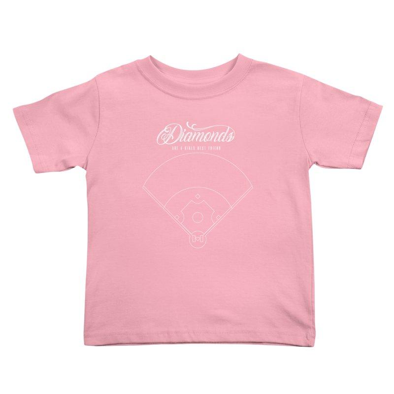 Diamonds Kids Toddler T-Shirt by Brimstone Designs