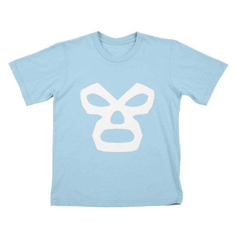 LUCHADOR Kids T-shirt by Brimstone Designs