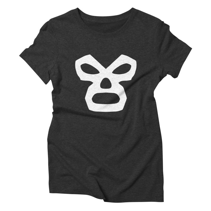LUCHADOR Women's Triblend T-shirt by Brimstone Designs