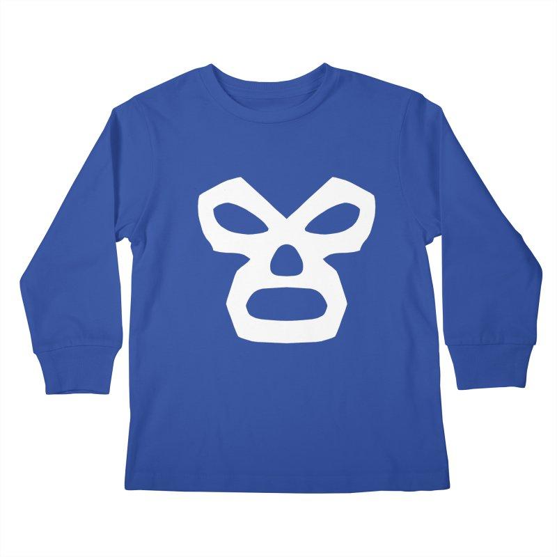 LUCHADOR Kids Longsleeve T-Shirt by Brimstone Designs