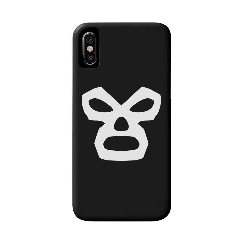 LUCHADOR Accessories Phone Case by Brimstone Designs