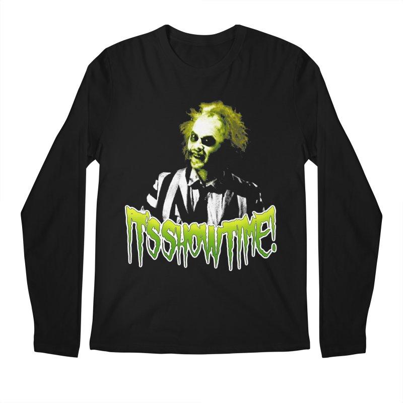 SHOWTIME Men's Longsleeve T-Shirt by Brimstone Designs