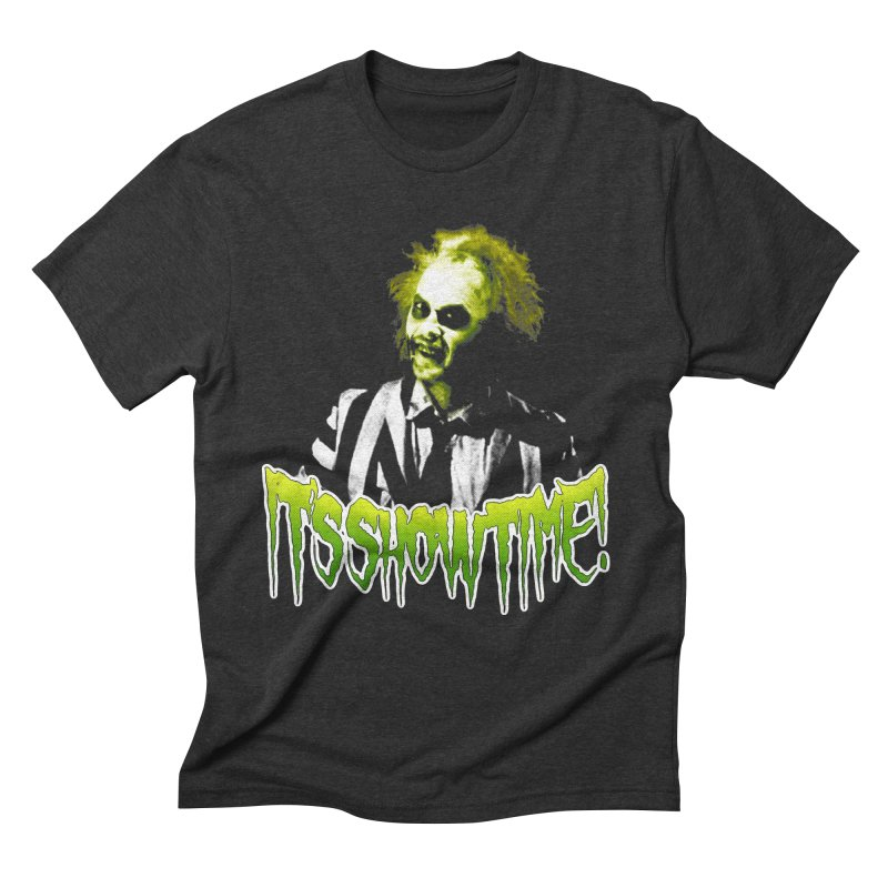 SHOWTIME Men's Triblend T-Shirt by Brimstone Designs