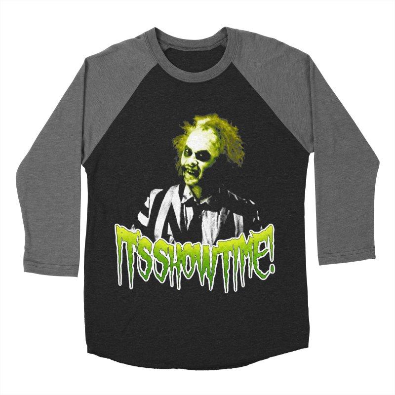 SHOWTIME Men's Baseball Triblend T-Shirt by Brimstone Designs