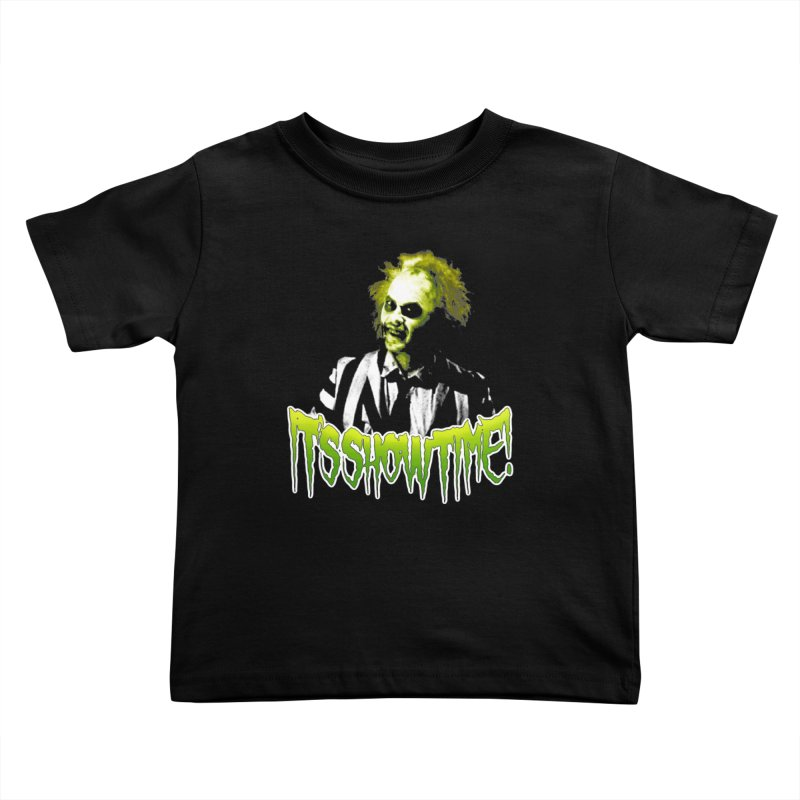 SHOWTIME Kids Toddler T-Shirt by Brimstone Designs