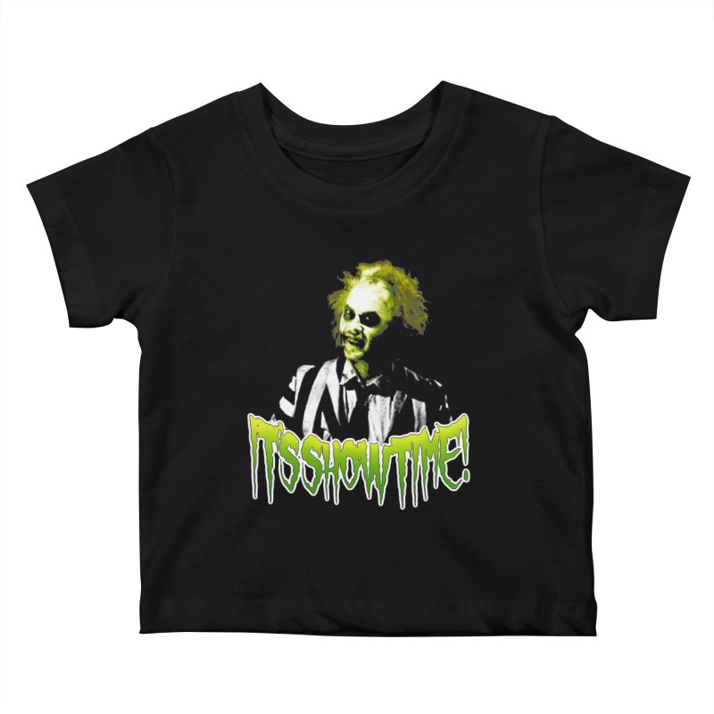 SHOWTIME Kids Baby T-Shirt by Brimstone Designs