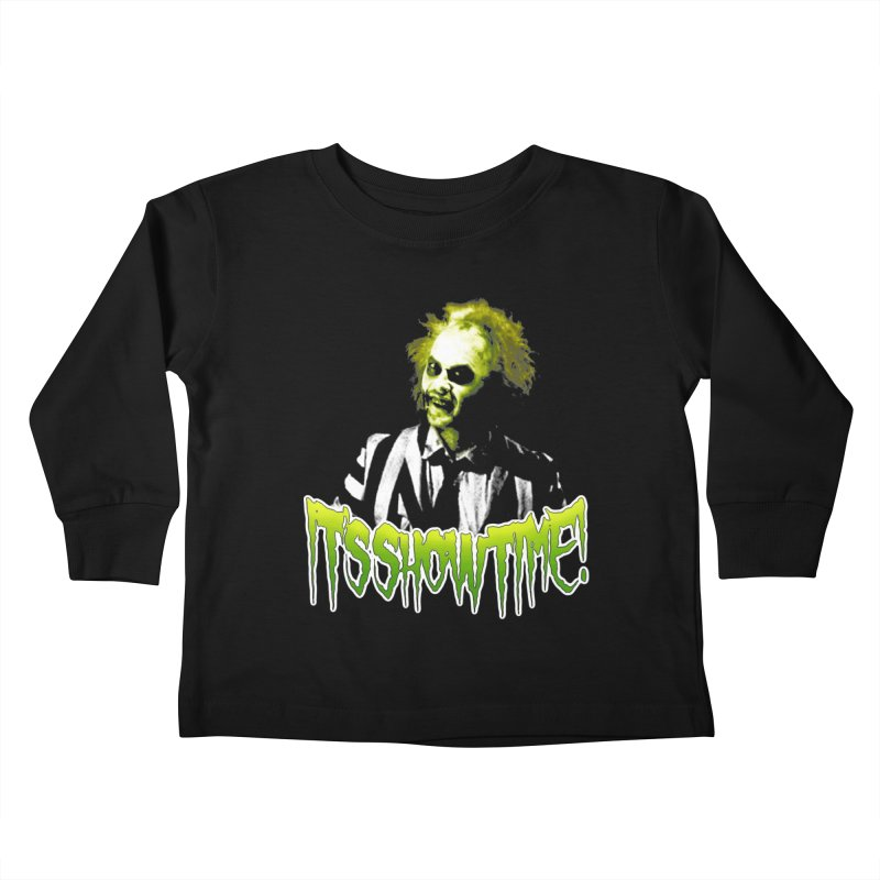 SHOWTIME Kids Toddler Longsleeve T-Shirt by Brimstone Designs