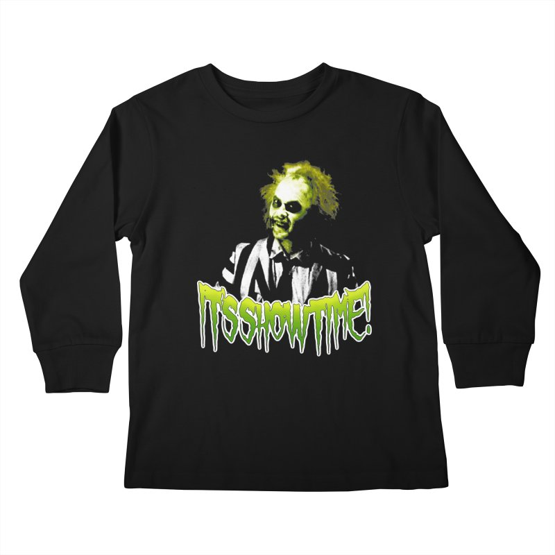 SHOWTIME Kids Longsleeve T-Shirt by Brimstone Designs