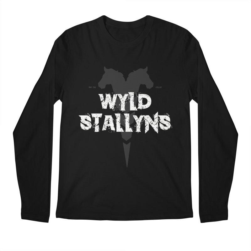 WYLD STALLYNS Men's Longsleeve T-Shirt by Brimstone Designs
