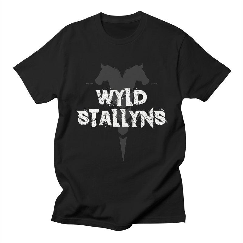 WYLD STALLYNS Men's T-Shirt by Brimstone Designs