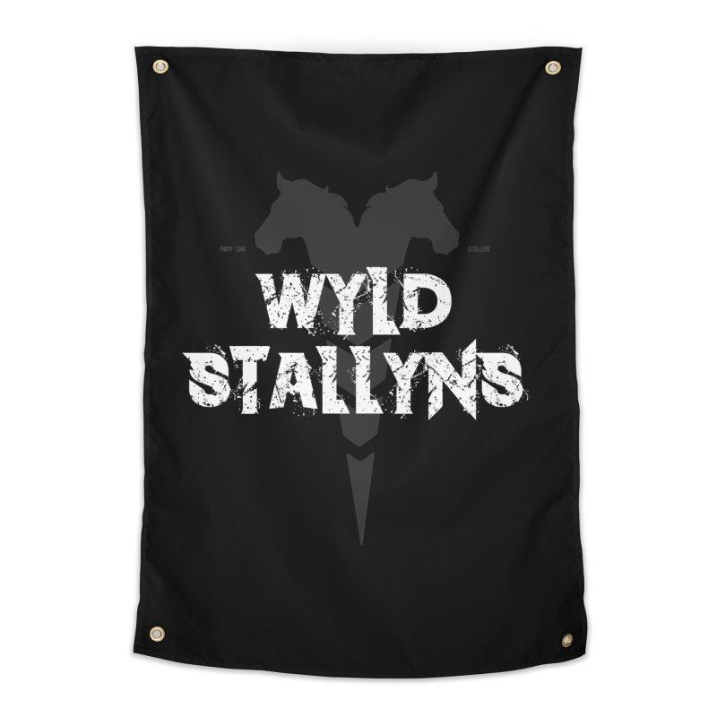 WYLD STALLYNS Home Tapestry by Brimstone Designs